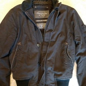 Mens Abercrombie and Fitch Harrison jacket fur